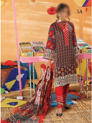 AlZohaib Monsoon Chunri Lawn Prints D-05A
